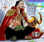 Crocodile Pirate King in Colored Manga