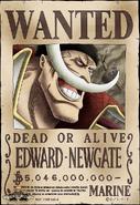 Edward Newgate Wanted Poster