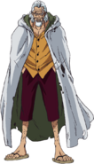 Silvers Rayleigh Anime Concept Art