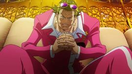 Gild Tesoro in the anime