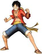 Luffy en Kaizoku Musou