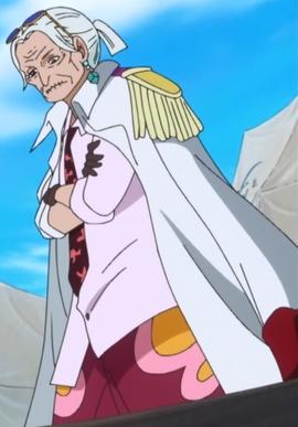 Tsuru in the anime