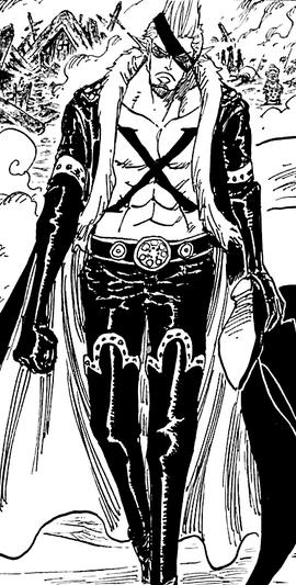X Drake after the timeskip in the manga