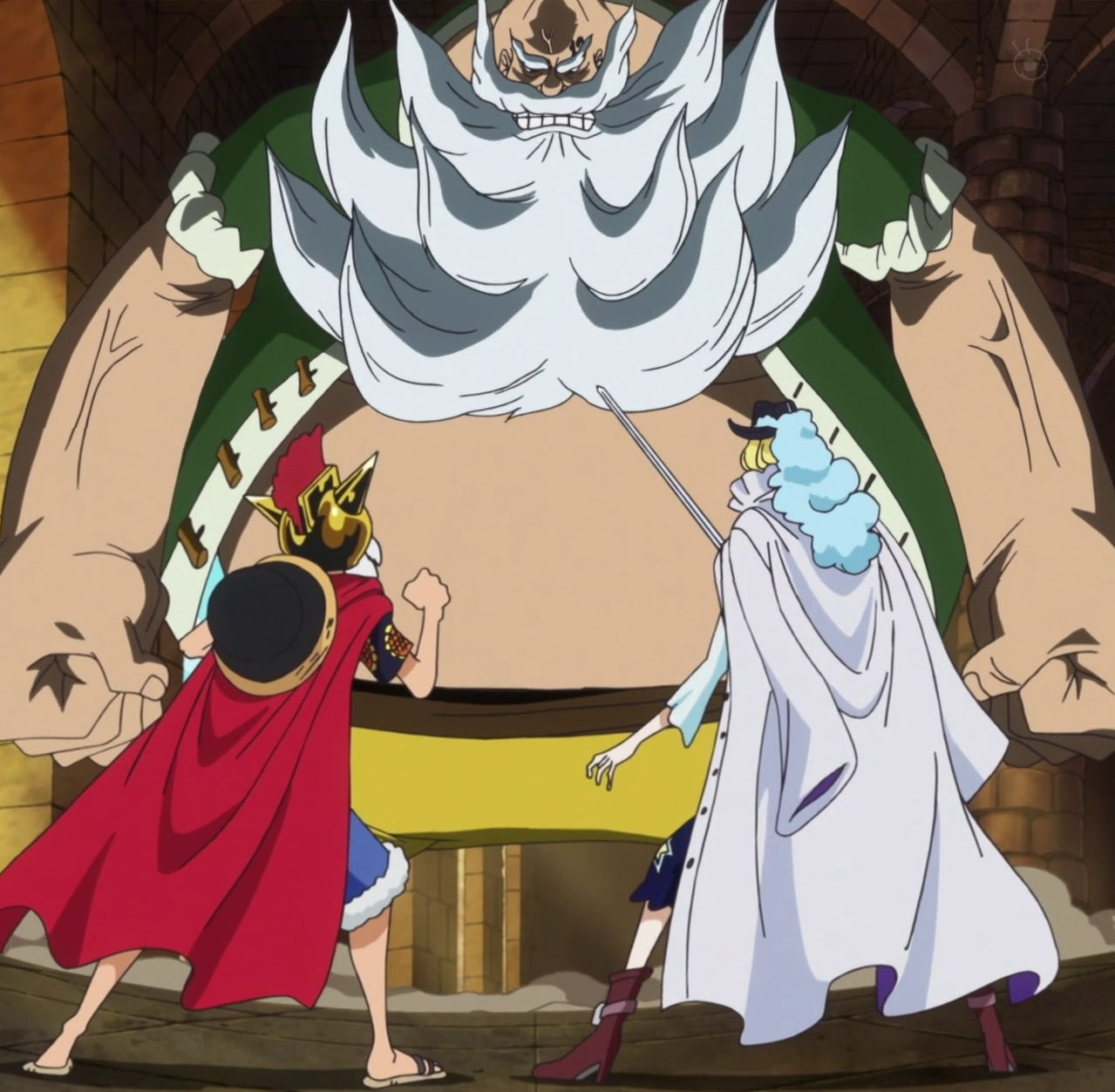 Chinjao vs. Cavendish vs. Monkey D. Luffy
