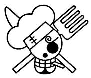 Sanji's Post Timeskip Jolly Roger