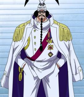 Sengoku before the timeskip in the anime
