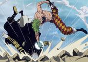 Bartolomeo sconfigge Gladius