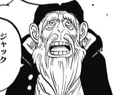 Monjii in the manga
