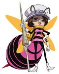 Mushi Mushi no Mi, modèle Guêpe Forme Hybride Anime Infobox.png