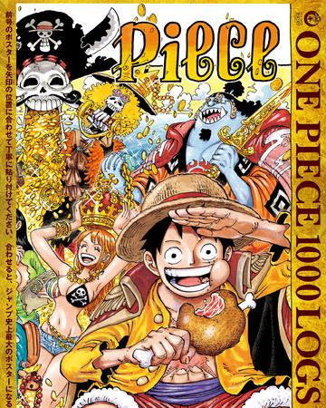 Chapter 1000 One Piece Wiki Fandom