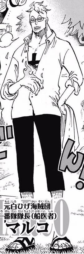 Marco tras el salto temporal en el manga