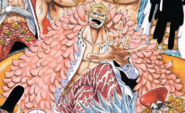 Donquixote Doflamingo Post Timeskip Manga Color Scheme