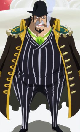 Capone Bege after the timeskip in the anime