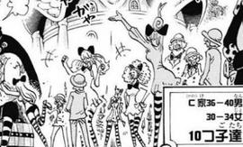 Charlotte Decuplets in the manga
