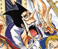 Foxy's Coat Manga Color Scheme