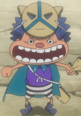 Gari in the anime
