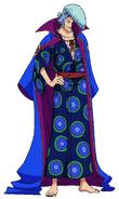 Kyoshiro Anime Concept Art