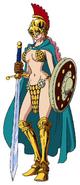 Rebecca Anime Concept Art