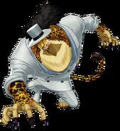 One Piece World Seeker Lucci Beast mode