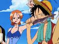 Dreamship Luffy mange un poisson.png