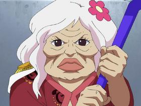 Глориоза в аниме