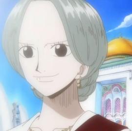 Nefertari Titi in the anime