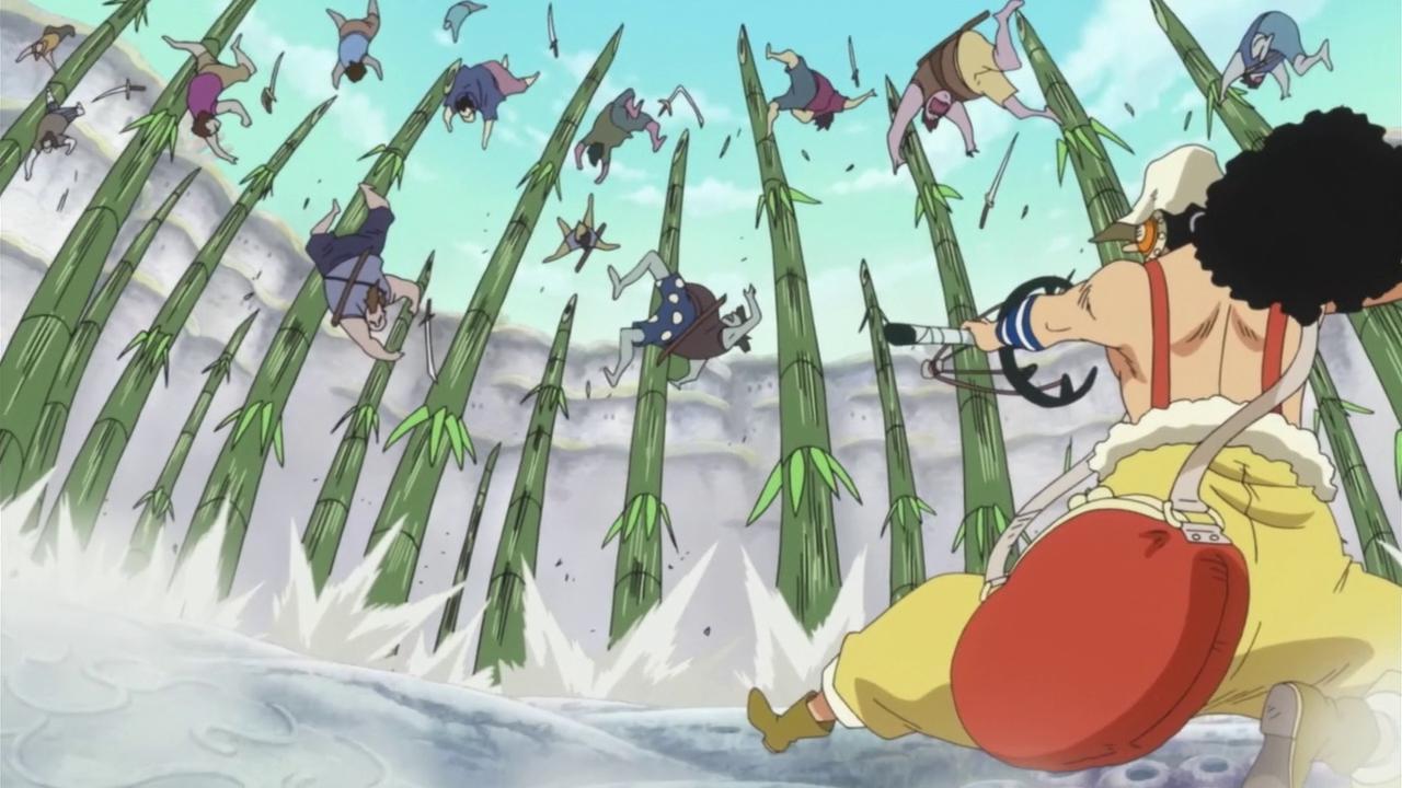 Hissatsu Midori Boshi Take Javelin