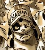 Dalmatian as a Young Marine