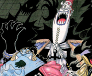 Gecko Moria's Summit War Manga Color Scheme