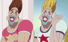 Сплаш и Сплатер в аниме
