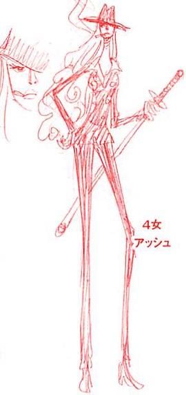 Charlotte Hachée in the manga