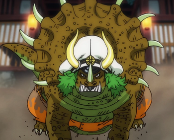 Fruta Ryu Ryu: modelo triceratops