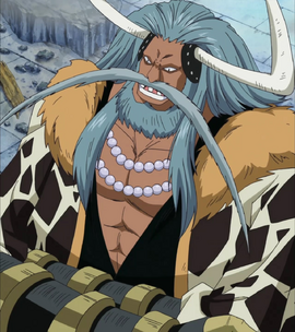 Avalo Pizarro before the timeskip in the anime