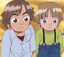 Chip y Dip en el anime