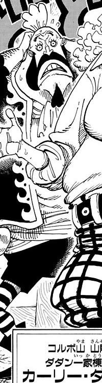 Magra in the manga