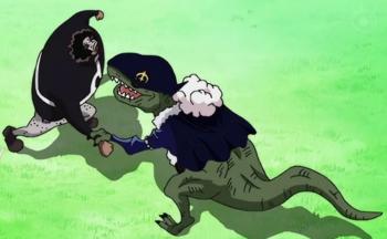Ryu Ryu no Mi, Model: Allosaurus