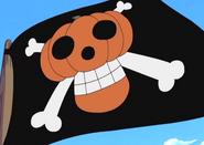 Pumpkin Pirates' Jolly Roger