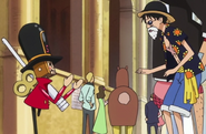 Thunder Soldier and Luffy Height Comparison