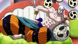 Enel in the anime