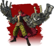 Eustass Kid Pirate Warriors 4