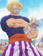 Luffy's Grandfather Romance Dawn Anime
