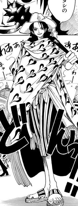 Alvida in the manga