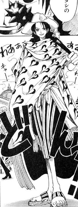 Alvida en el manga