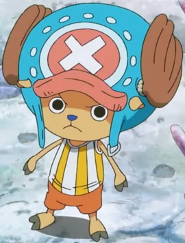 Tony Tony Chopper after the timeskip in the anime