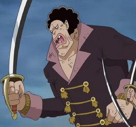 Andre in the anime