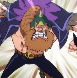 Dachoman in the anime