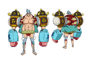 Franky Other Stampede Outfit