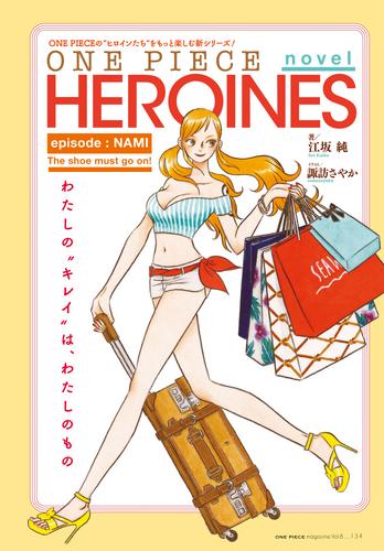 One Piece novel HEROINES