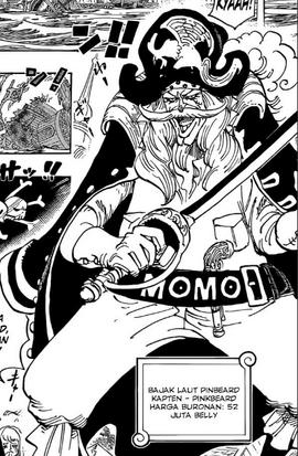 Pinkbeard in the manga