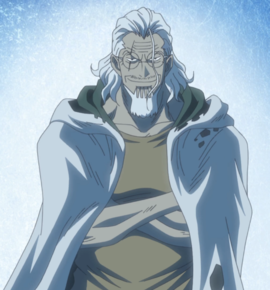 Silvers Rayleigh in the anime